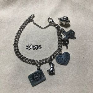 James Avery Bracelet with 6 Charms